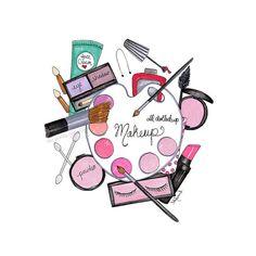 Lipstick art print Vanity wall décor Wall by theprettypinkstudio