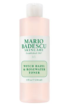 skincare Mario Badescu Witch Hazel & Rosewater Toner Summer season Wedding ceremony Clothes Not like Mario, Anti Aging Skin Care, Natural Skin Care, Natural Beauty, Rose Toner, Moisturizer For Oily Skin, Skin Toner, Homemade Skin Care, Homemade Facials