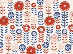 ILLUSTRATIVE    Illustrative and playful patterns done for projects and for personal use.