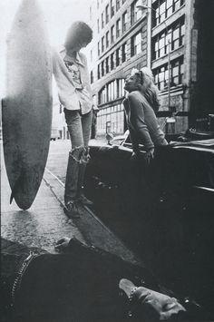 Joey Ramone, Debbie Harry, and Dee Dee Ramone