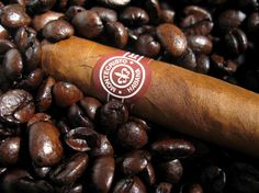 Montecristo and coffee beans, both need to be roasted
