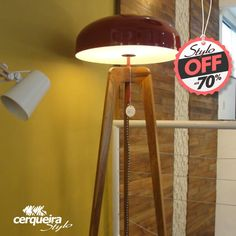 De: 4.179,40 Por:1.752.90  Luminaria TYG  75 3612.4330  #off #aquitetura #decoracao #designdeinterior #promocao #marco #stylo
