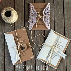 MAISON CHIC ROSE: INVITI COUNTRY CHIC