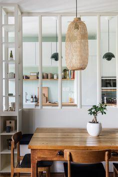 Un appartement en duplex à l'âme bohème à la campagne - PLANETE DECO a homes world