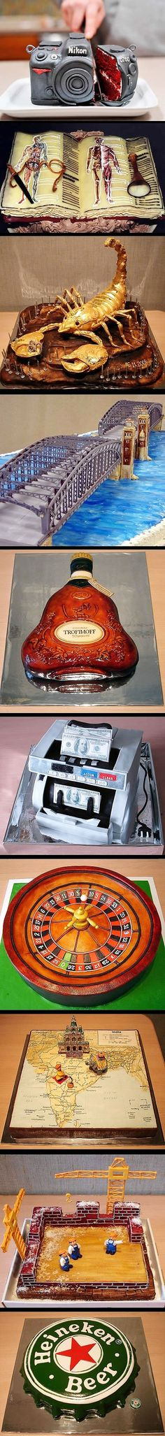 Ooee, just once I want a cake like this for my own birthday, haha.