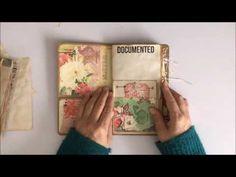 DT Project Ephemera's Vintage Garden Miss Lady Faye - YouTube