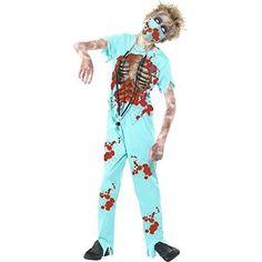 Disfraz de cirujano zombie para niño. Prepárate para #Halloween http://www.milideaspararegalar.es/producto/disfraz-de-cirujano-zombie-para-nino/