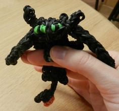 Rainbow Loom How to Train Your Dragon (Night Fury)