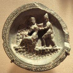 Gandharan cosmetic plate.200~700 B.C.