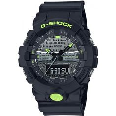 CASIO G-Shock GA-800DC-1A Special Colors Model Casio G-shock, Casio Watch, G Shock Watches, Watches For Men, Men's Watches, Low Band, Apple Watch 38, Countdown Timer