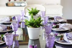 Lavanda table by blog da thassia