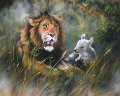 Lion and The Lamb by DanMcManis.deviantart.com on @DeviantArt