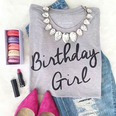 Calling all Birthday Girls... this shirt is a MUST. ilycouture.com