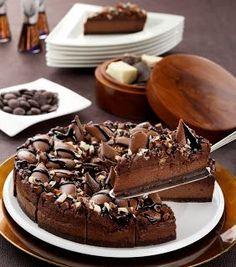 Chocolate Truffle Cheesecake Recipe :D