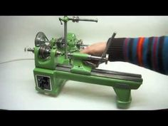 Lorch KD 50 Lathe with demonstrations of many types of lathe accessories (ideas for future tools).