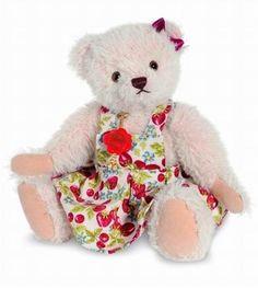 Ours teddy de collection Erna 19 cm en peluche  #teddy #nounours #doudou
