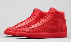 "#Nike #Blazer Mid Metric ""University Red"""