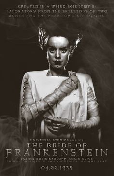 The Bride of Frankenstein-1935 by 4gottenlore on deviantART
