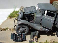 My diorama GAZ-AAA 1/35