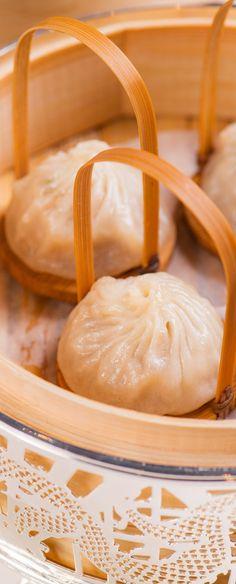 Steamed Japanese Hairy Crabmeat Dumpling. Get this in Jade Dragon in Macau.