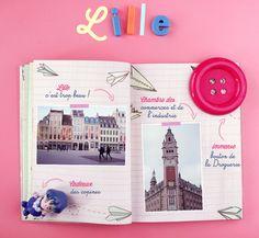 Lille, mon carnet de voyage | Poulette Magique