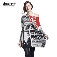 Cheerart s Oversized Loose Knitted Sweater. Plus Size SweatersPullsPullover  SweatersJumperSleeve StylesAutumn ... f1202536a