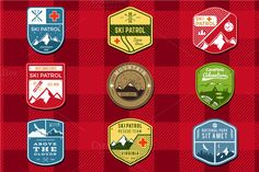 Logo Creation Kit - Camping Edition ~ Logo Templates on Creative Market