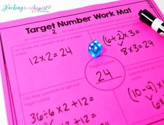 Higher Level Math Centers for Upper Elementary Students {Including Free Centers} - Teaching to Inspire with Jennifer Findley