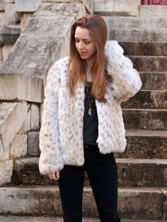 Faux Fur Jacket + Free Pattern! – Design By Lindsay