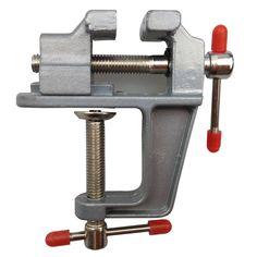 Marca Nueva Aleación de Aluminio Mesa de Tornillo de Banco Tornillo de Banco para DIY Joyería Artesanía Molde Fijo Herramienta de Reparación Envío Gratis