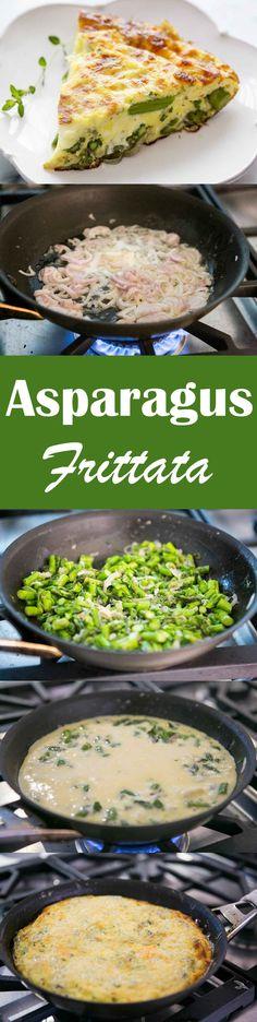 Asparagus Frittata Recipe | SimplyRecipes.com
