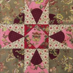 Civil War Quilts: Threads of Memory 11: St. Charles Star for Louisa Alexander