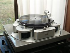 """Audio Note - TT3 , Audiophile High End Analog Turntable"" !...  http://about.me/Samissomar"