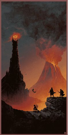 The+Lord+Of+The+Rings+-+The+Return+Of+The+King+by+Matt+Ferguson.png (683×1360)