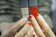 NAIL-COMMON: [tricolore]bi-color nail
