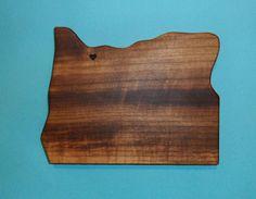 love portland, OR cutting board