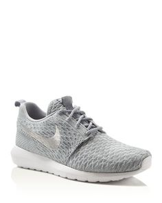 Blending lightweight materials with supportive design, these run-ready sneakers from Nike offer 360 degrees of flexibility. | Textile upper/fabric upper; inner sole: leather/rubber sole | Imported | F