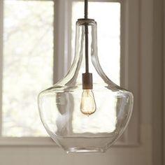 Sutton Glass Pendant ... www.birchlane.com