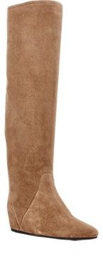 Concealed Wedge Knee Boots