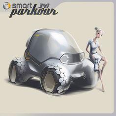 Smart 341 Parkour Concept | OTOTASARIM.COM