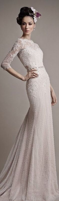 Emmy DE * Ersa Atelier Spring 2015 Wedding Dress