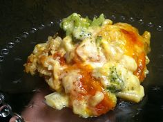 "Chicken Velvet with Broccoli - A ""Melt in your mouth-luscious, scrumptious, meal in itself."""