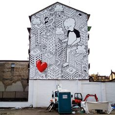 "Millo - Italian Street Artist - ""Everyone is searching for it"" - Milan (IT) - 03/2015 - |\*/| #millo #streetart"