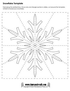 Printables Archive - Page 3 of 50 - Tims Printables. Lots of printables, song l. - Holiday wreaths christmas,Holiday crafts for kids to make,Holiday cookies christmas, Paper Snowflake Template, Paper Snowflakes, Christmas Snowflakes, Christmas Paper, Christmas Holidays, Snowflakes Template Printable, Paper Snowflake Patterns, Origami Templates, Box Templates