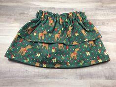 Two Tier Skirt- Baby Skirt- Toddler Skirt- Children Skirt- Baby shower Gift- Skirt by OllyandOlive on Etsy https://www.etsy.com/listing/481413382/two-tier-skirt-baby-skirt-toddler-skirt