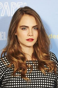 cara delevingne bronde hair - Coloration Bronde
