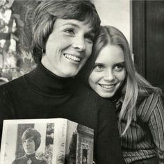 Julie Andrews and her daughter, Emma