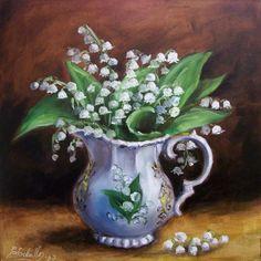 C Ceballos. Bouquet de muguets