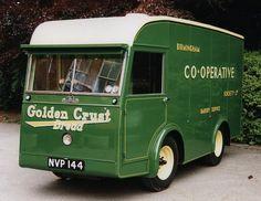 Birmingham Co-op electric van