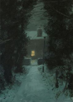 'Lamp and Alley' by Greg Becker
